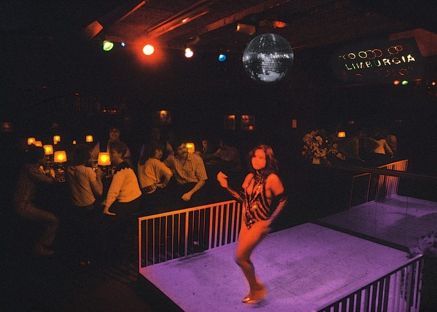 Verdwenen horeca: Cabaret-dancing Limburgia aan de Lange Elisabethstraat