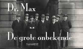 Minidocumentaire over Utrechtse verzetsheld: Dr. Max. De grote onbekende