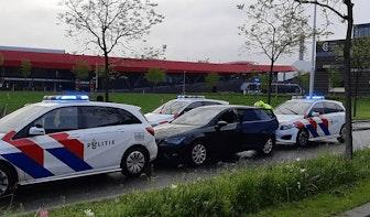 Automobilist onder invloed van lachgas slaat op de vlucht voor de politie