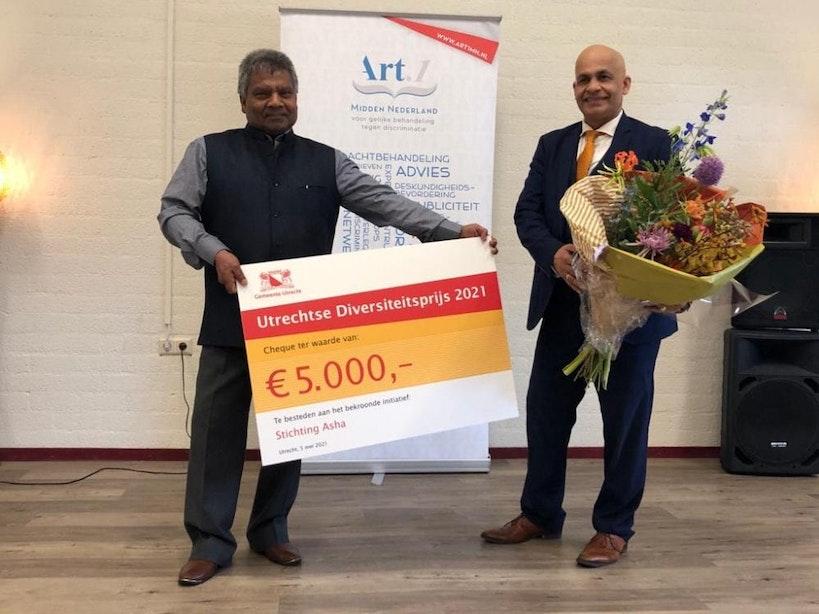 Stichting Asha wint Utrechtse Diversiteitsprijs 2021