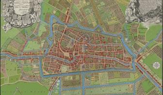 Marcus Laman blaast 17e-eeuwse plattegrond van Utrecht nieuw leven in