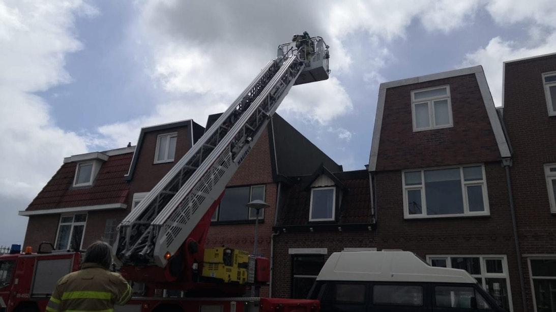 Brandweer rukt uit naar Utrechtse Seringstraat voor vaatwasserbrand