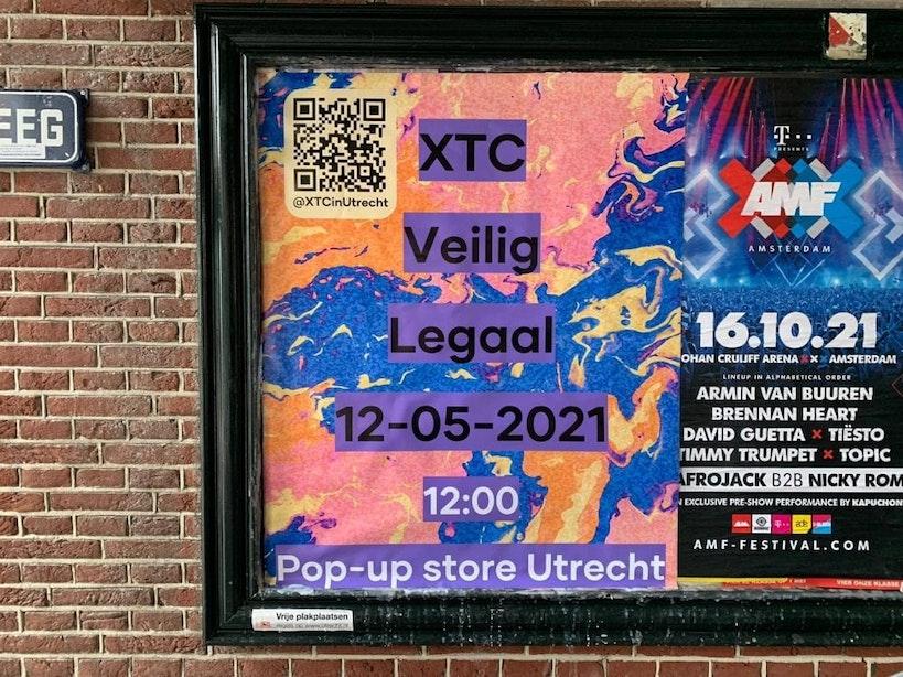 Jonge Democraten openen pop-up XTC-winkel in Utrechtse binnenstad