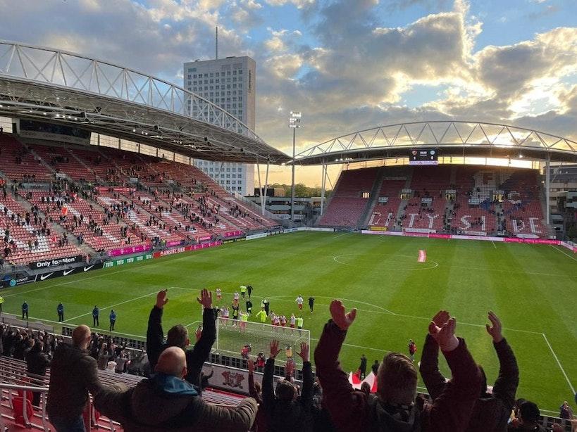 Supporters FC Utrecht willen demonstreren in Rotterdam