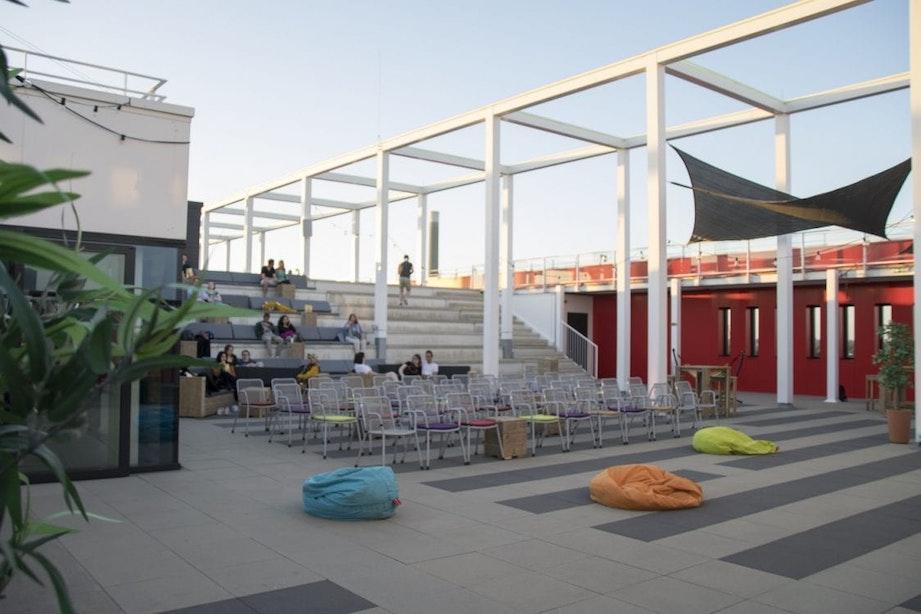 Rooftop cinema Pathé Utrecht Leidsche Rijn vrijdagavond weer open