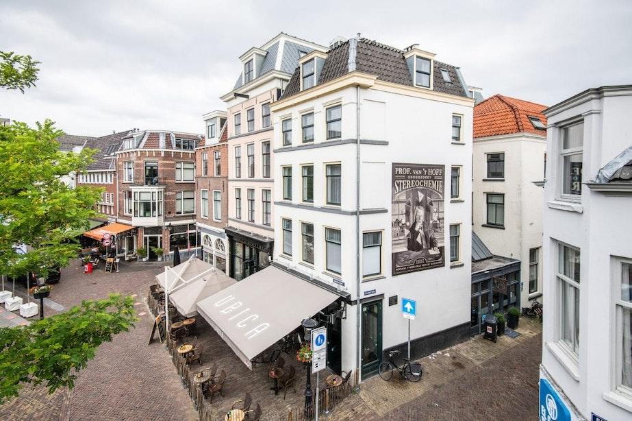 Nieuwe muurformule in hartje binnenstad Utrecht; schildering van baanbrekende ontdekking