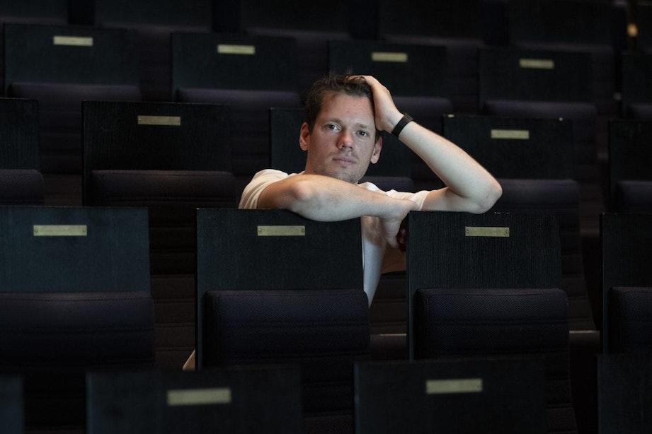 Muzikant Matteo Myderwyk doet zijn beste vondsten op het podium