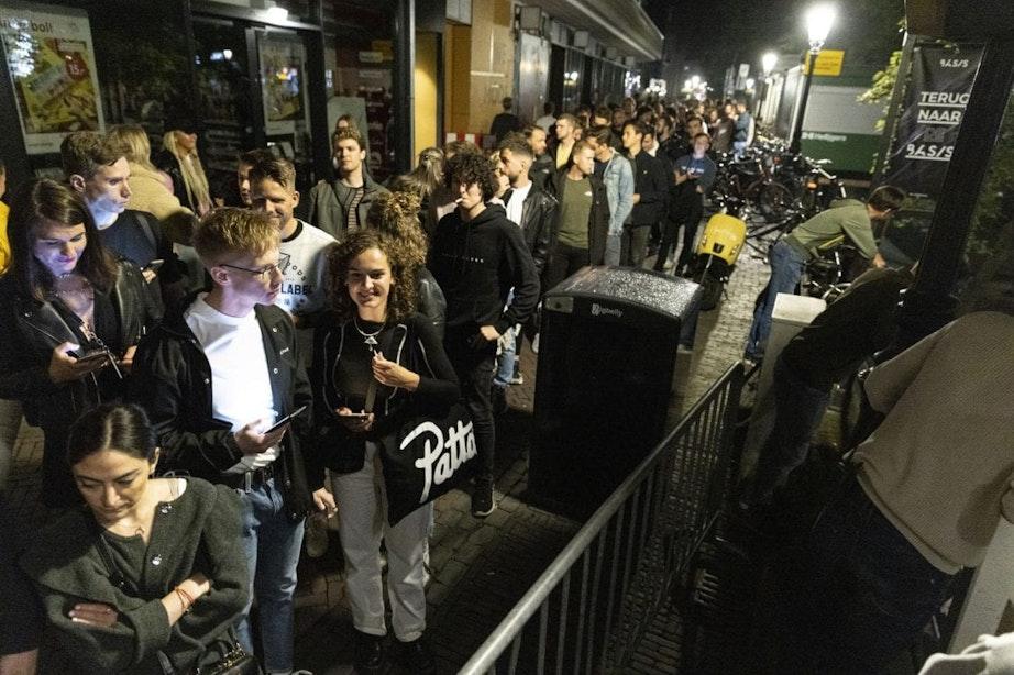 Club BASIS in Utrecht voor het eerst sinds lange tijd weer open voor bezoekers