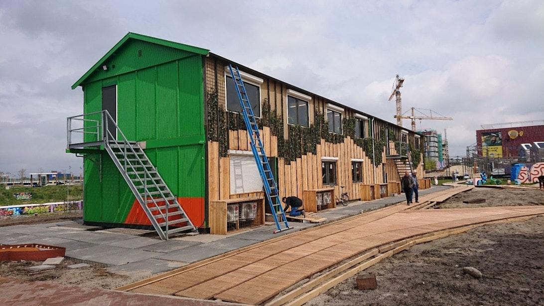 Vier partijen die dakloos raakten na brand Berlijnplein hebben nieuw tijdelijk onderkomen