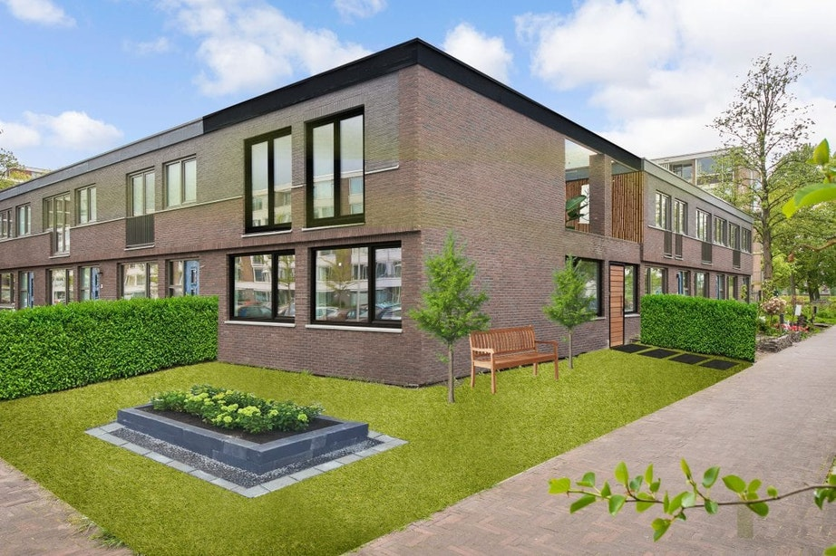 Het huis van de toekomst, als een blanco canvas