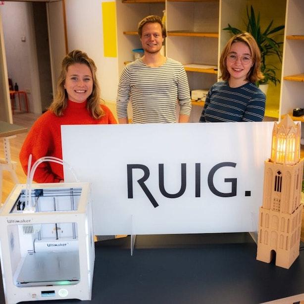 Utrechts Gemaakt: Buro Ruig maakt alles met 3D-printers