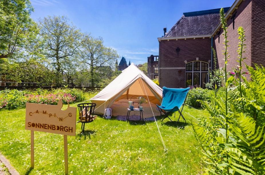 Camping Sonnenborgh in Utrecht opent voor één nacht de deuren