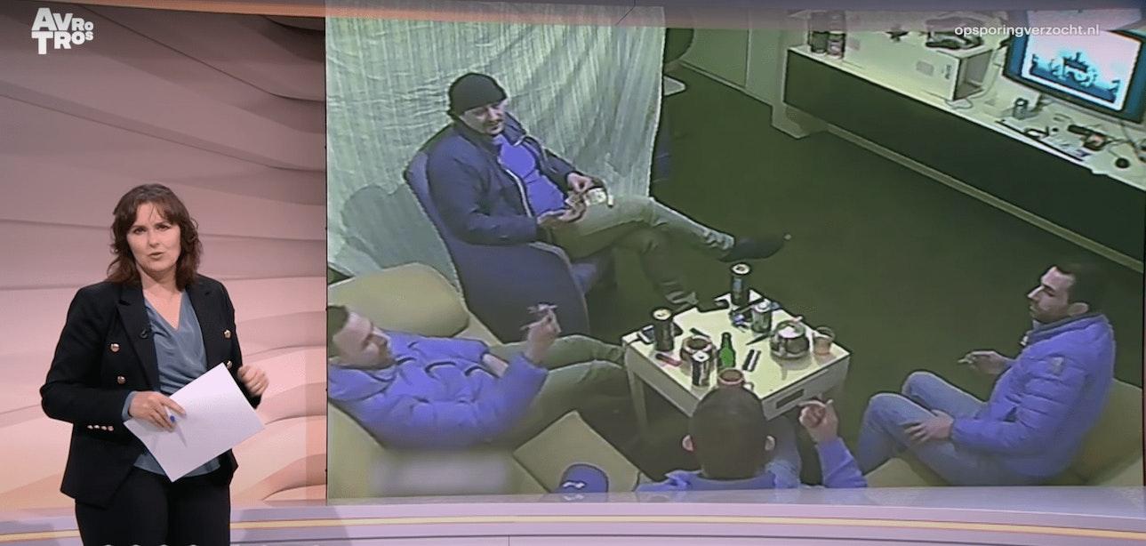 Beelden uit appartement aan Ebrodreef in Utrecht moeten leiden naar identiteit van vier verdachten