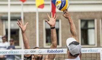 Uitzwaaiwedstrijd Olympische beachvolleyballers zaterdag op Lucasbolwerk in Utrecht
