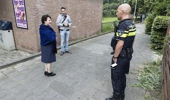 Burgemeester Dijksma voegt daad bij het woord: twee extra camera's in Utrechtse Geuzenwijk na explosie