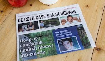 Politie krijgt in minder dan een week 16 tips over cold case Sjaak Gerwig; 'Er zit interessante informatie bij'