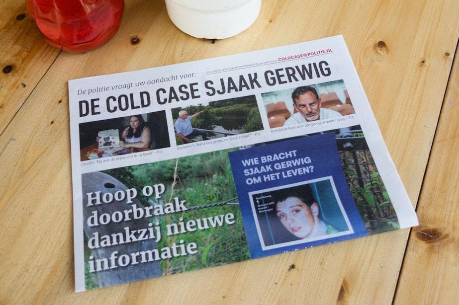 Politie krijgt al vijf waardevolle tips over cold case Sjaak Gerwig