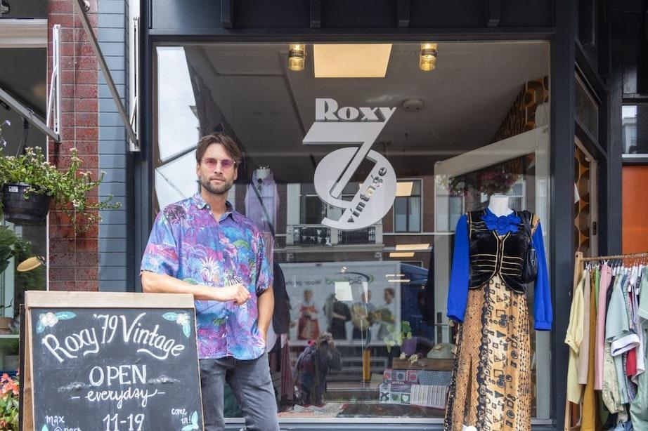 Op bezoek bij: Vintage kledingwinkel Roxy '79 aan de Nachtegaalstraat in Utrecht