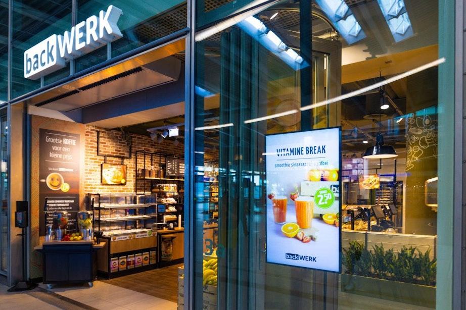Broodjeszaak BackWerk vervangt Broodzaak op Utrecht Centraal