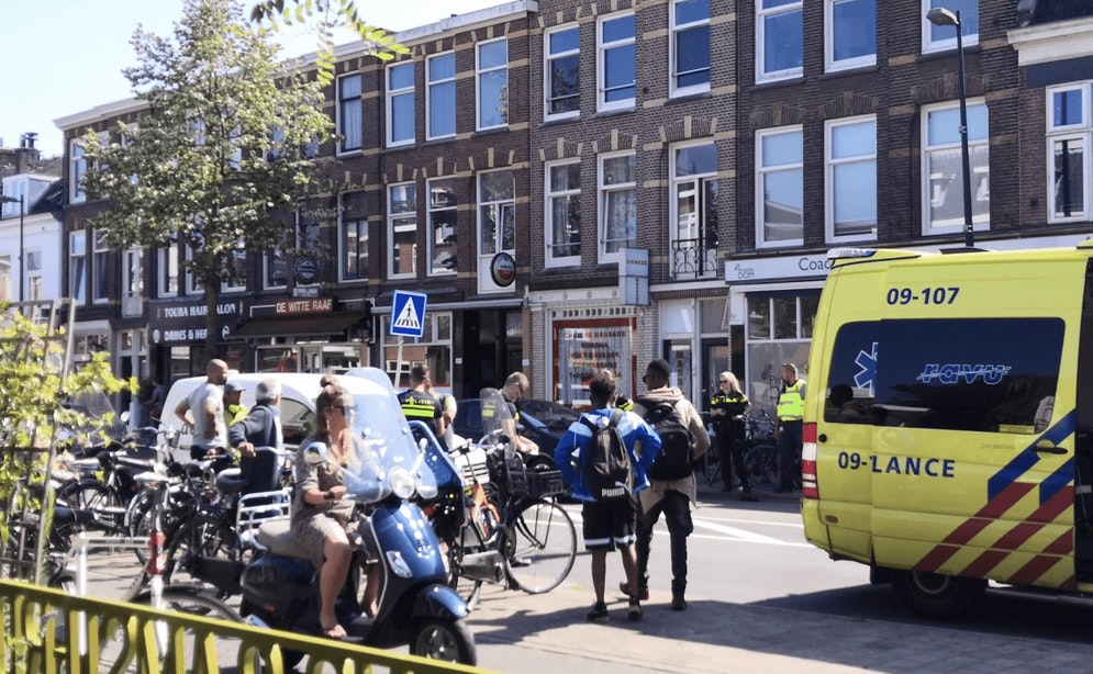 Voetganger gewond bij aanrijding op Amsterdamsestraatweg in Utrecht