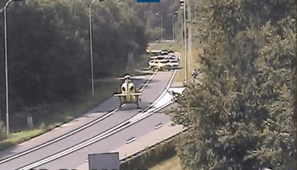 Ernstig ongeluk met motorrijder op A28 bij Rijnsweerd.