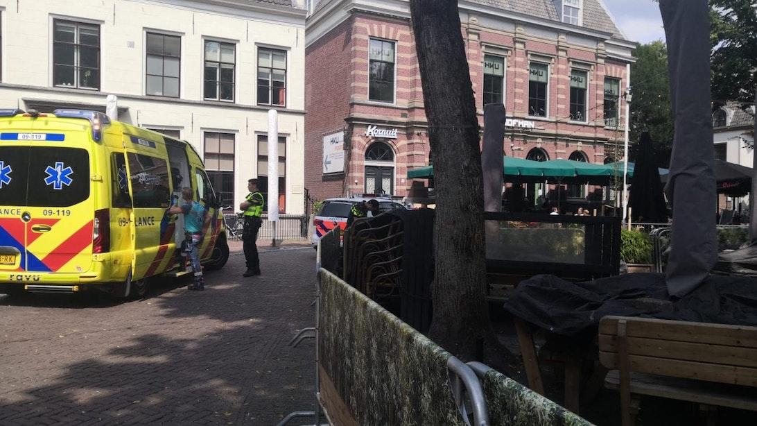 Drie arrestaties bij steekpartij in de binnenstad van Utrecht
