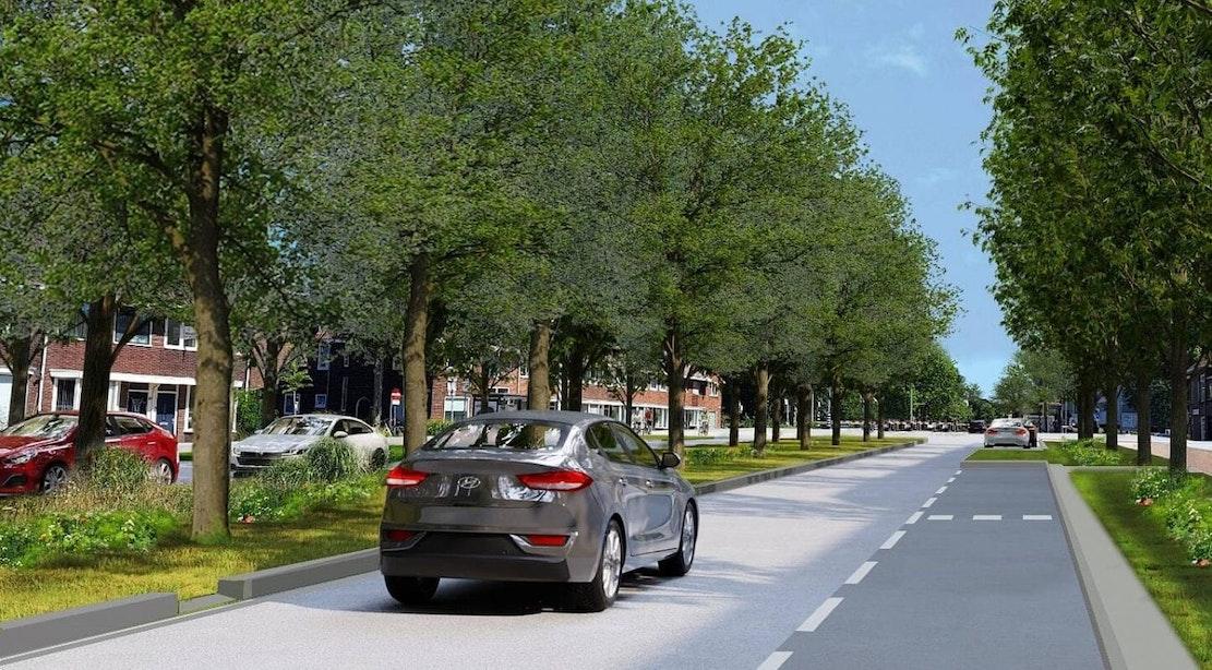 Bewoners reageren op plannen Socrateslaan; zorgen over doorstroming en parkeerplaatsen