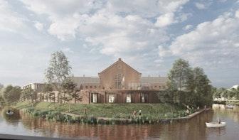 Wolvenplein in Utrecht gaat weer open: woningen, horeca en zelfs een nieuwe brug over de singel