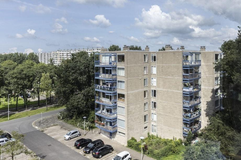50-jarig jubileum experimentele flats Overvecht; bewoners nog steeds laaiend enthousiast