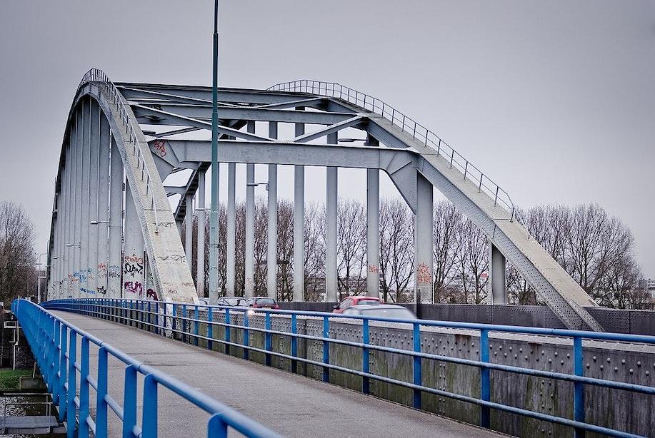 De Meernbrug in Utrecht bijna drie weken afgesloten voor fietsers en voetgangers