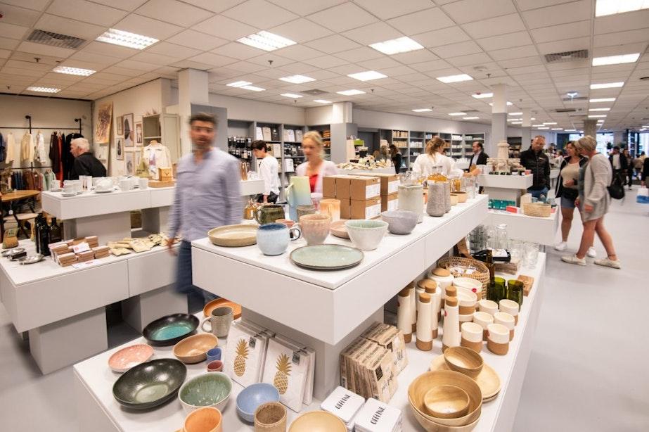 Foto's: duurzaam warenhuis opent deuren in voormalige Broesepand in Utrecht