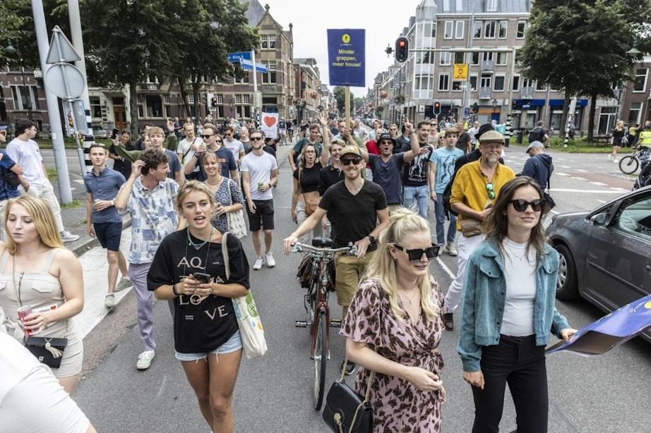 Utrecht volgend weekend weer decor van Unmute Us-protestmars