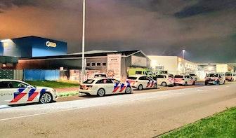 Politie rukt in groten getale uit om illegaal feest in Utrecht te beëindigen