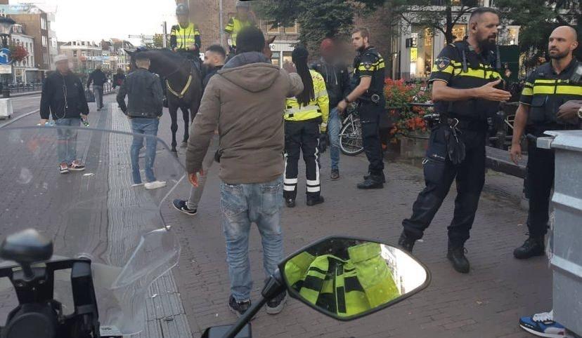 Zakelijk conflict mondt uit in vechtpartij op de Viebrug in Utrecht