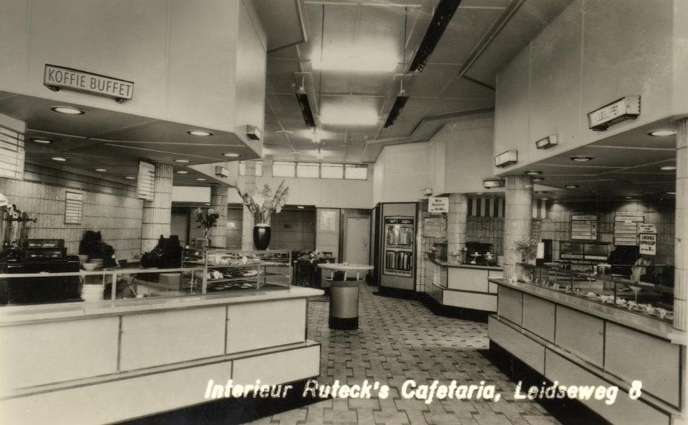 Verdwenen horeca: Ruteck's Cafetaria aan de Leidseweg
