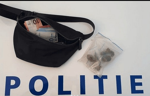 Politie arresteert mogelijke dealer in Vleuten; drugs, scooter, geld en telefoon in beslag genomen