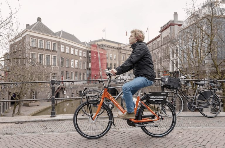 Tijdelijk gratis deelfietsen voor studenten en dagjesmensen in Utrecht