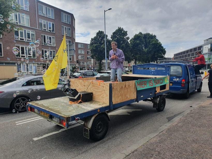 EKKO rijdt met podium door Utrecht en start kaartverkoop voor openingsweekend