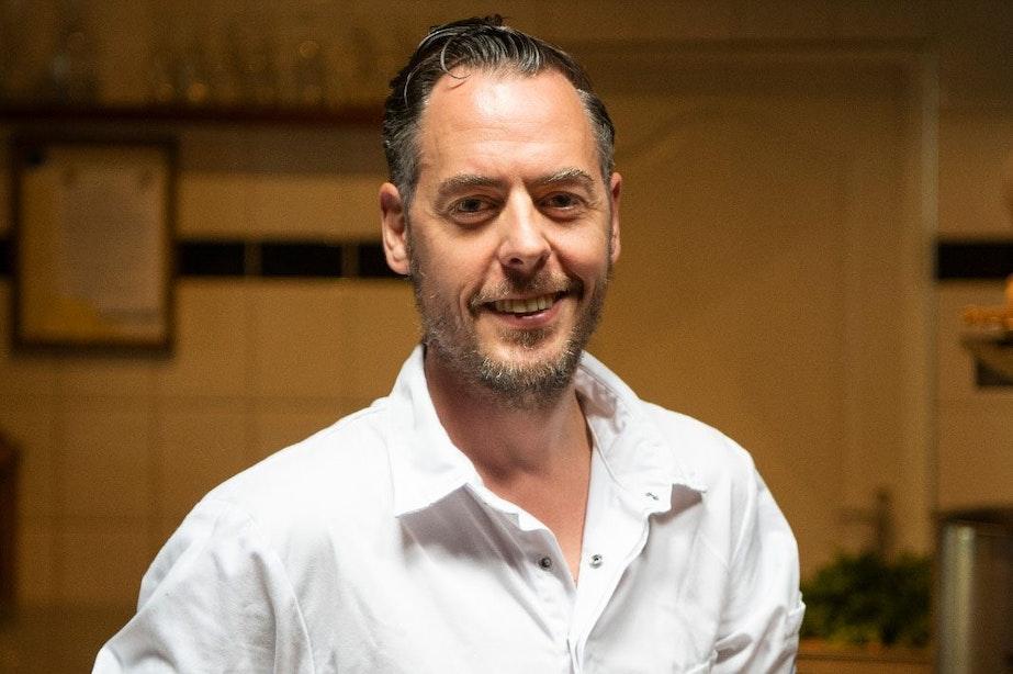 Utrecht volgens chef-kok en eigenaar van C'est Ça Raoul Witteman: 'Eten met een verhaal is gewoon veel leuker'