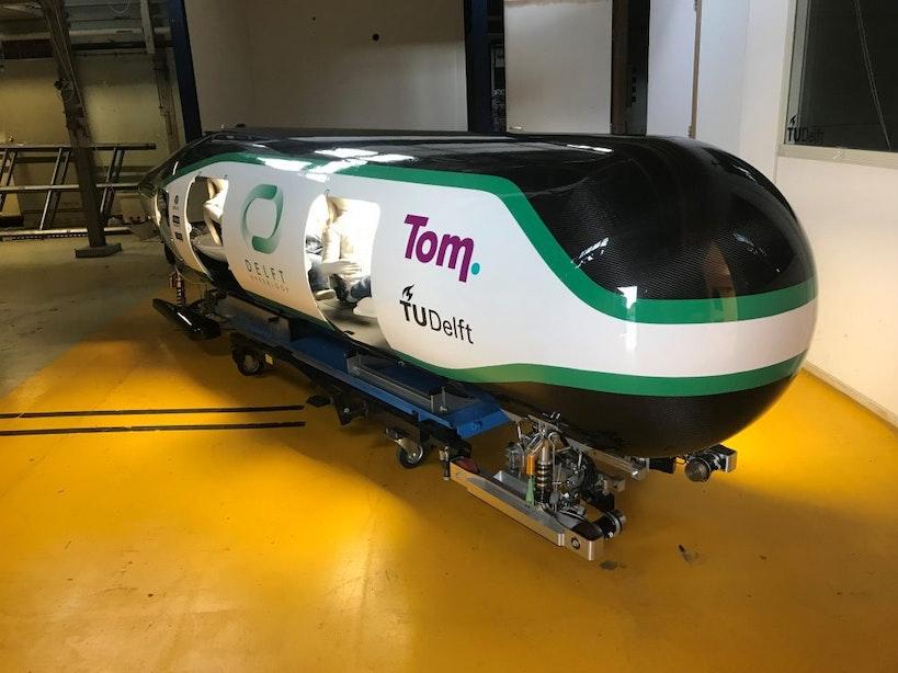 Hypermoderne vacuümtrein binnenkort te zien bij Spoorwegmuseum in Utrecht