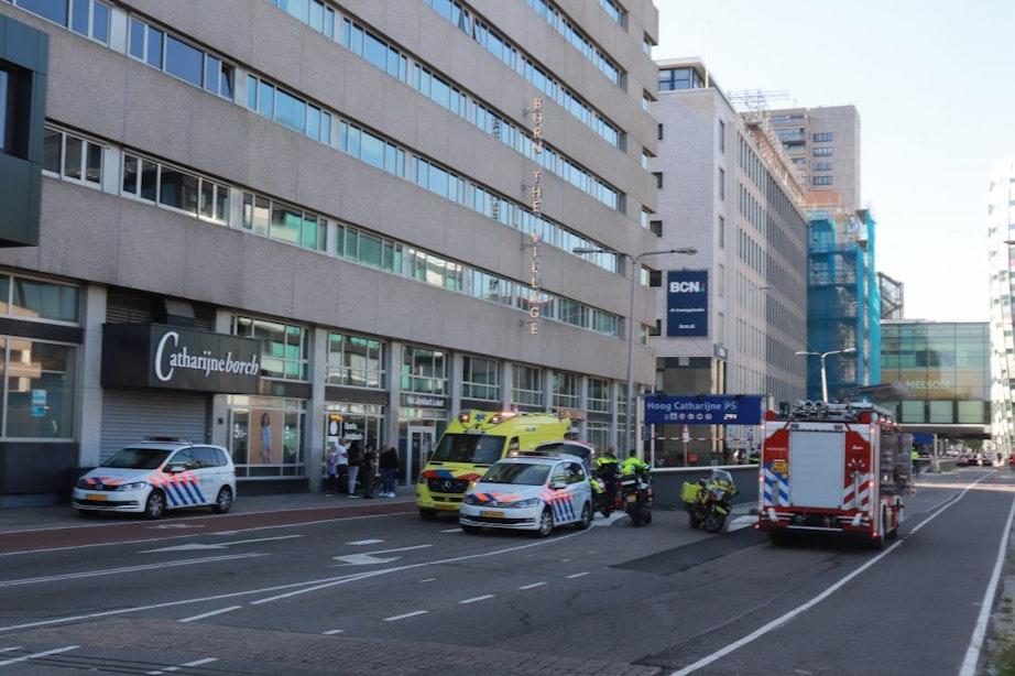 Automobilist zwaargewond bij eenzijdig ongeval in parkeergarage Hoog Catharijne