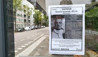 Dawid Szustak (28) vermist sinds 26 augustus en voor het laatste gezien in Utrecht