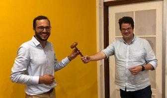 Marijn de Pagter neemt stokje over van Dimitri Gilissen als fractievoorzitter VVD Utrecht