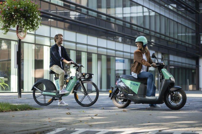 Vrijdag krijgt Utrecht 75 elektrische deelscooters en 125 nieuwe elektrische deelfietsen