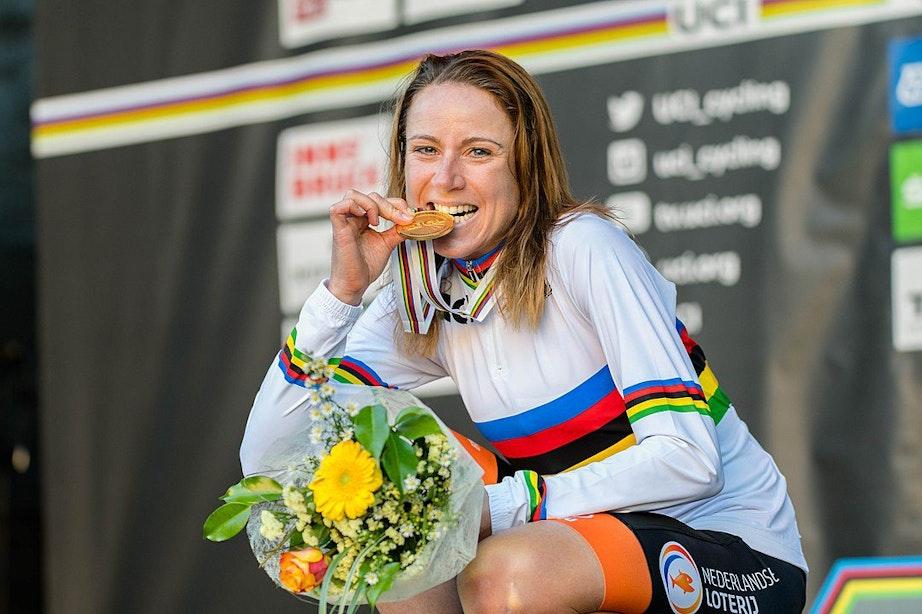 Krijgt Utrecht straks een Annemiek van Vleuten-fietspad?