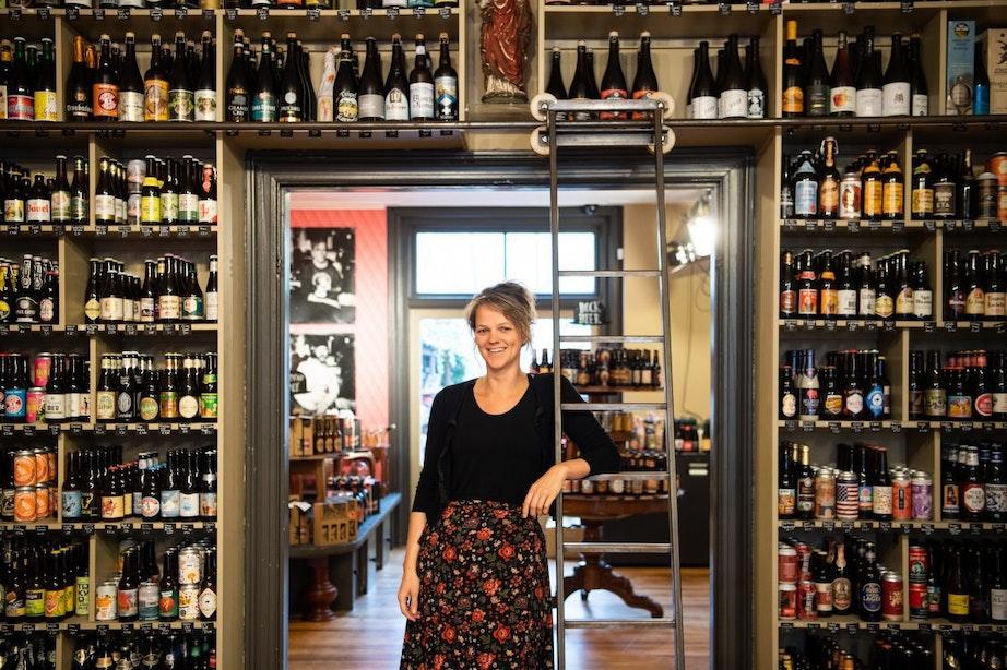 Utrecht volgens eigenaar van De Bierverteller aan de Twijnstraat Luisa Schroën